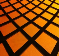 Inside Orange Grid