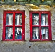 Vieux Couple de Fenêtres