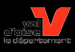Logo Val d'oise le département